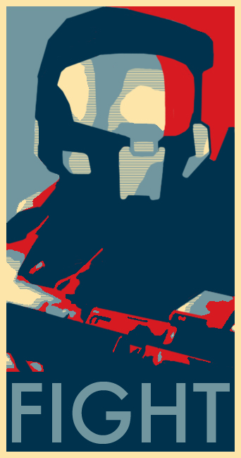FIGHT: Vote Master Chief by tdj1337