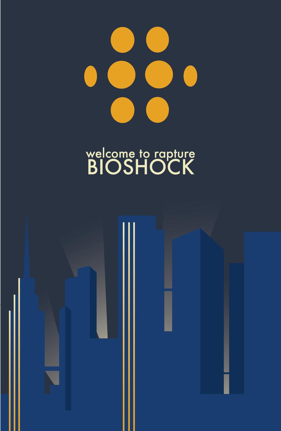 Bioshock Minimalist by tdj1337