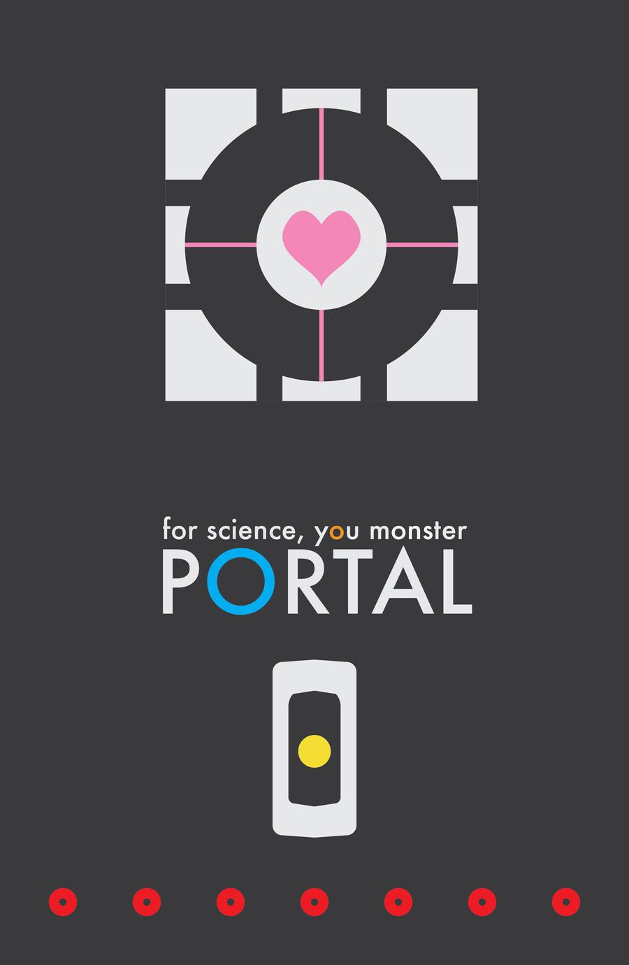 minimalist portal wallpaper by - photo #28