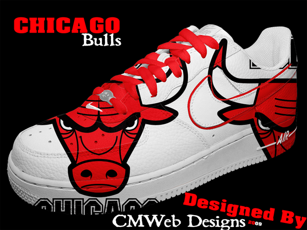 NEW: Chicago Bulls Shoe Design by CMWebStudios