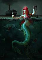 Ariel in modern times by claratessier