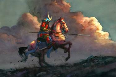 samourai by claratessier