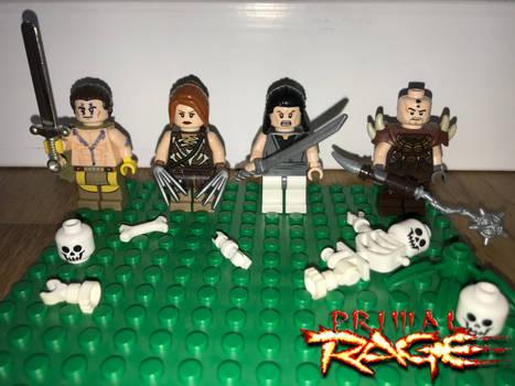 Lego Primal Rage: The Avatars Part 1-2