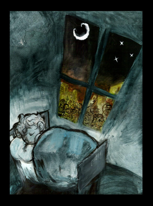 sweet dreams by elchicomancha