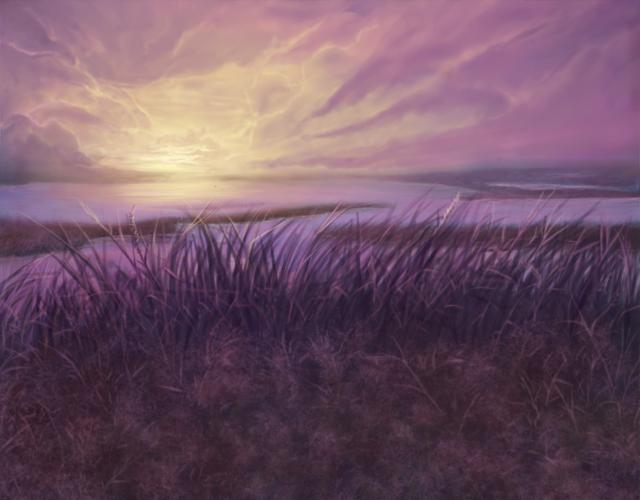 Morning Marshlands by ZaxArtz