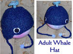 Adult Whale Hat