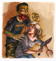 Zombie Action Colour by Slobula