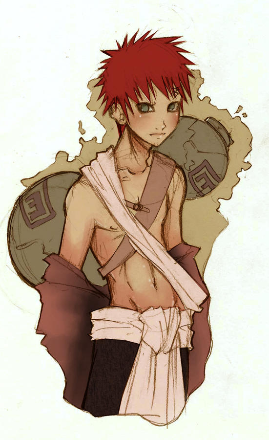 -Gaara anatomy- by Mielz