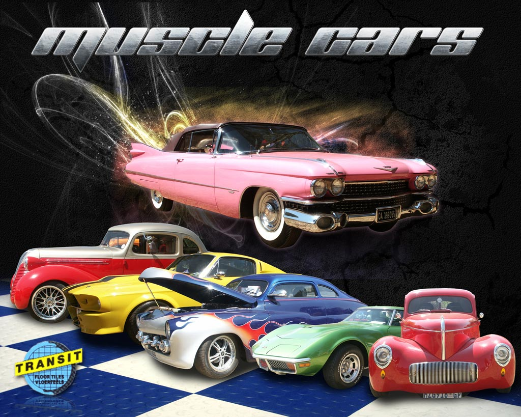 Muscle Cars Poster by DDS-Master on DeviantArt