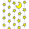 Hung stars by maakatea