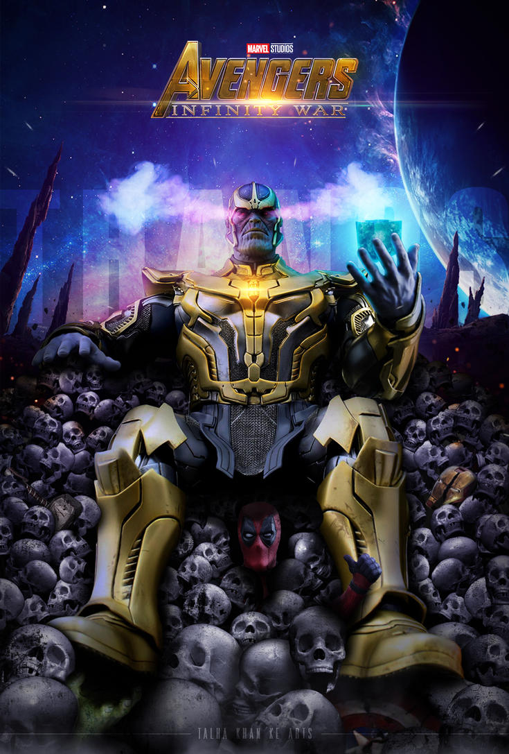 Thanos Poster (Avengers Infinity War) by atalhakhan on ...