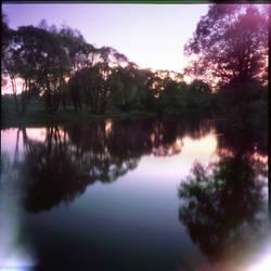 Night on river by urbantrip