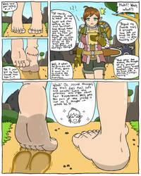 Walking in Zelda's Shoes (Clean Feet)