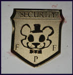 Purple Man's Security Badge *SOLD OUT*