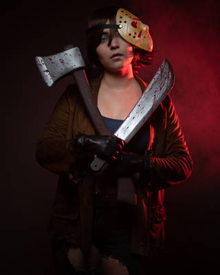 Bishoujo Jason - Cross My Heart, Now You Die by obscure-cosplay