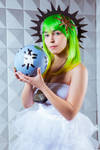 Goddess Gumi - God's An Energy Cheapskate by obscure-cosplay