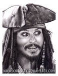Jack Sparrow drawing, aye?