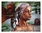 Daenerys in Colored Pencil