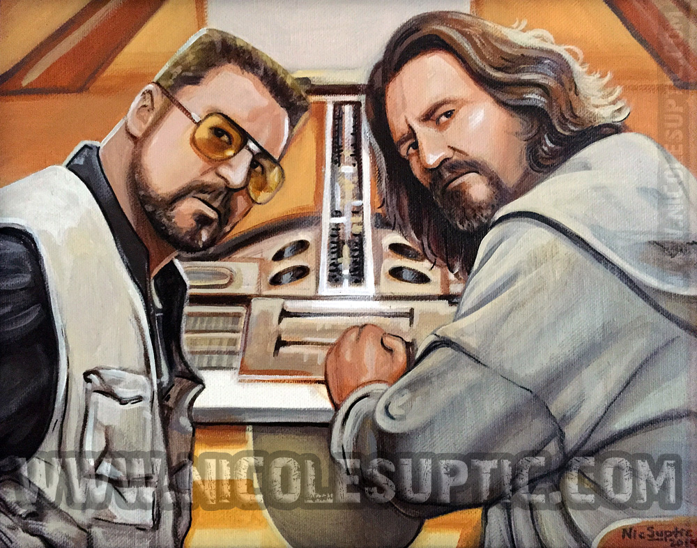 The Dude Abides by xnicoley
