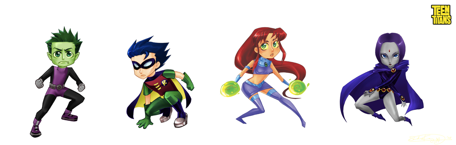 Teen Titans by d00li
