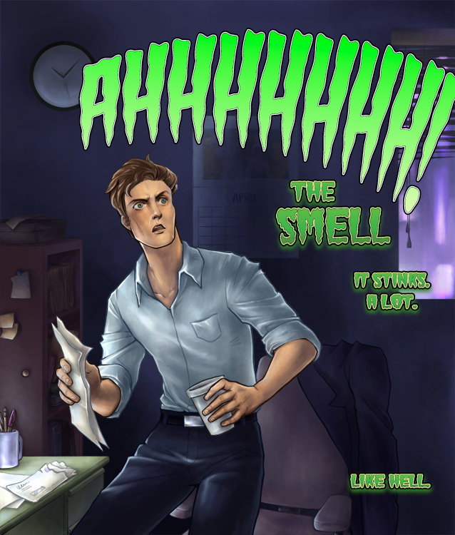 THE SMELL by d00li