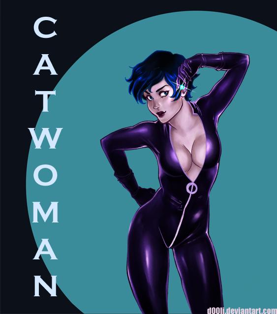 Catwoman by d00li
