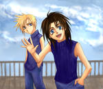 FVII-Zack with Cloud