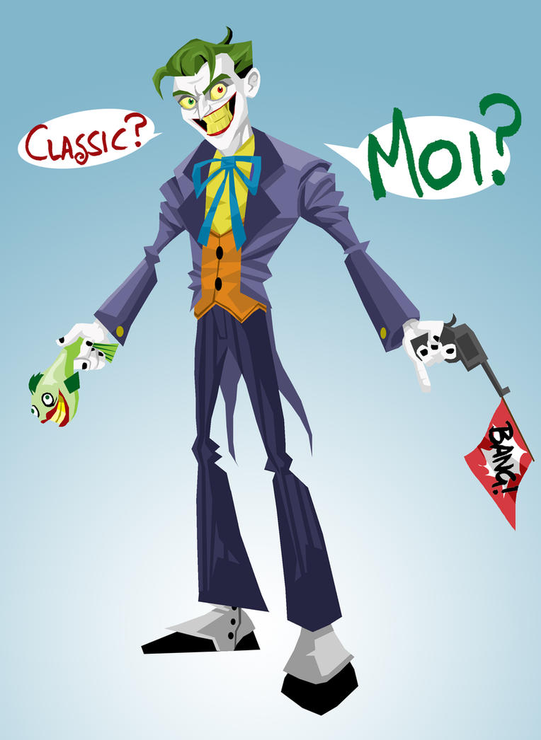 Classic Joker by memorypalace
