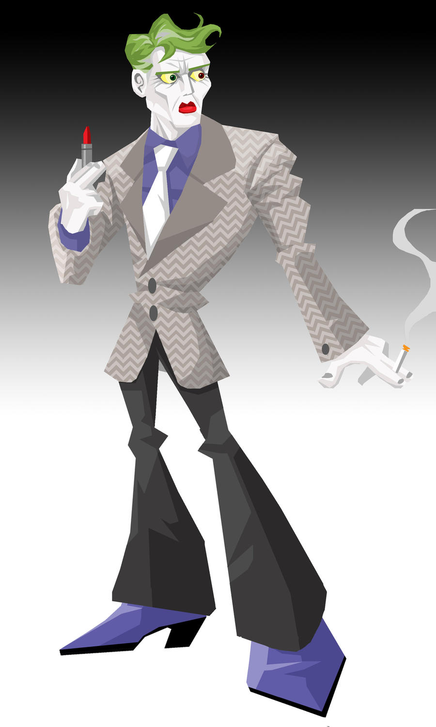 Joker: The Dark Knight Returns by memorypalace on DeviantArt