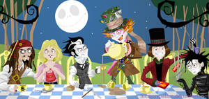 The Depp Hatter's Tea Party