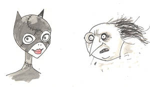Batman Returns sketch