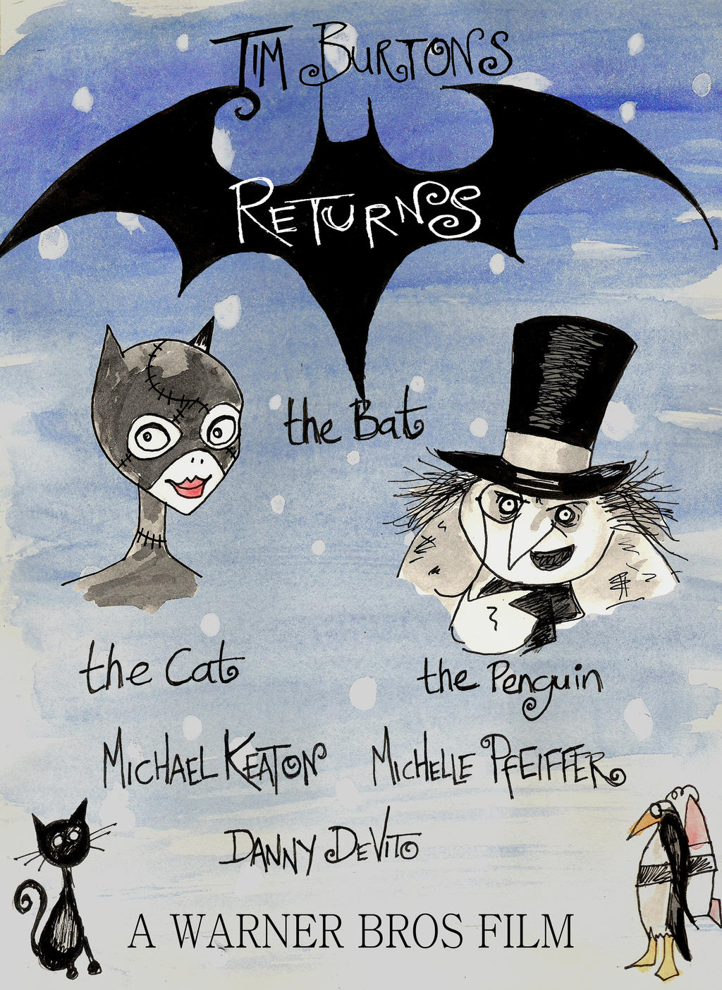 Batman Returns Poster contest