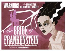 The Bride Poster by memorypalace