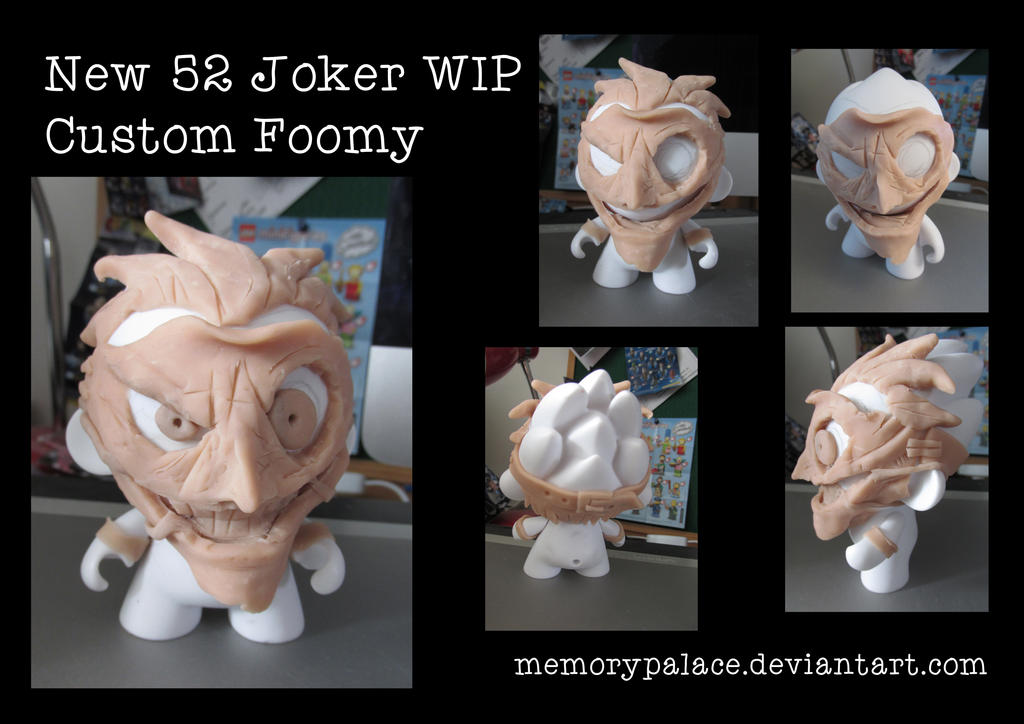 New 52 Joker WIP by memorypalace
