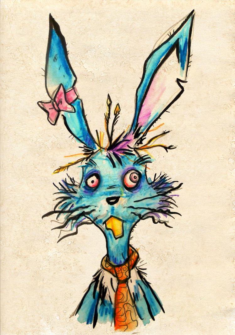 March Hare Sketch by memorypalace