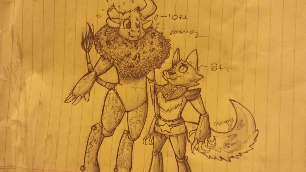 Two Most Unlikely Friends by jadedacatl106