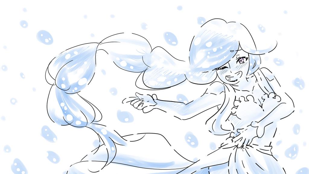 Splash - Indivisible Fan Art by Otakumi