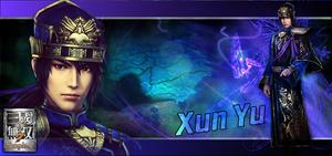 Dynasty warriors 8 Empires - Xun Yu Background