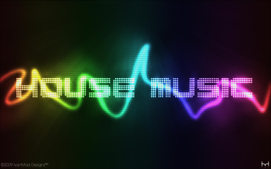House music wallpaper by theivanmad on deviantart for I love deep house music