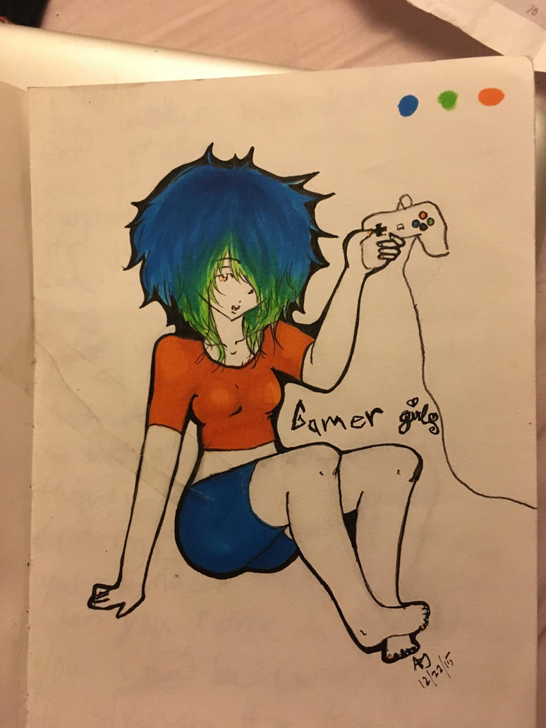 Gamer Girl by peas12344