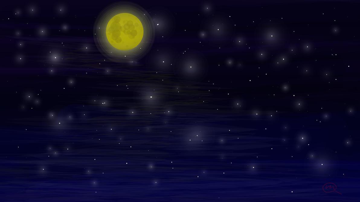 Night Sky by ZMasashi