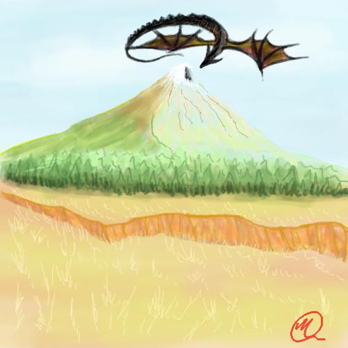 Dragon Mountain by ZMasashi