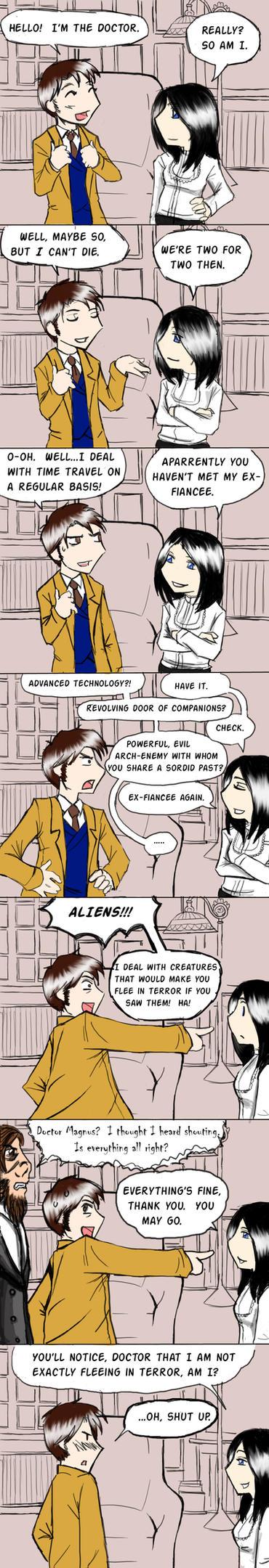DOCTOR BATTLE by SuperherogirlCat