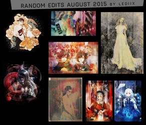 Random edits august