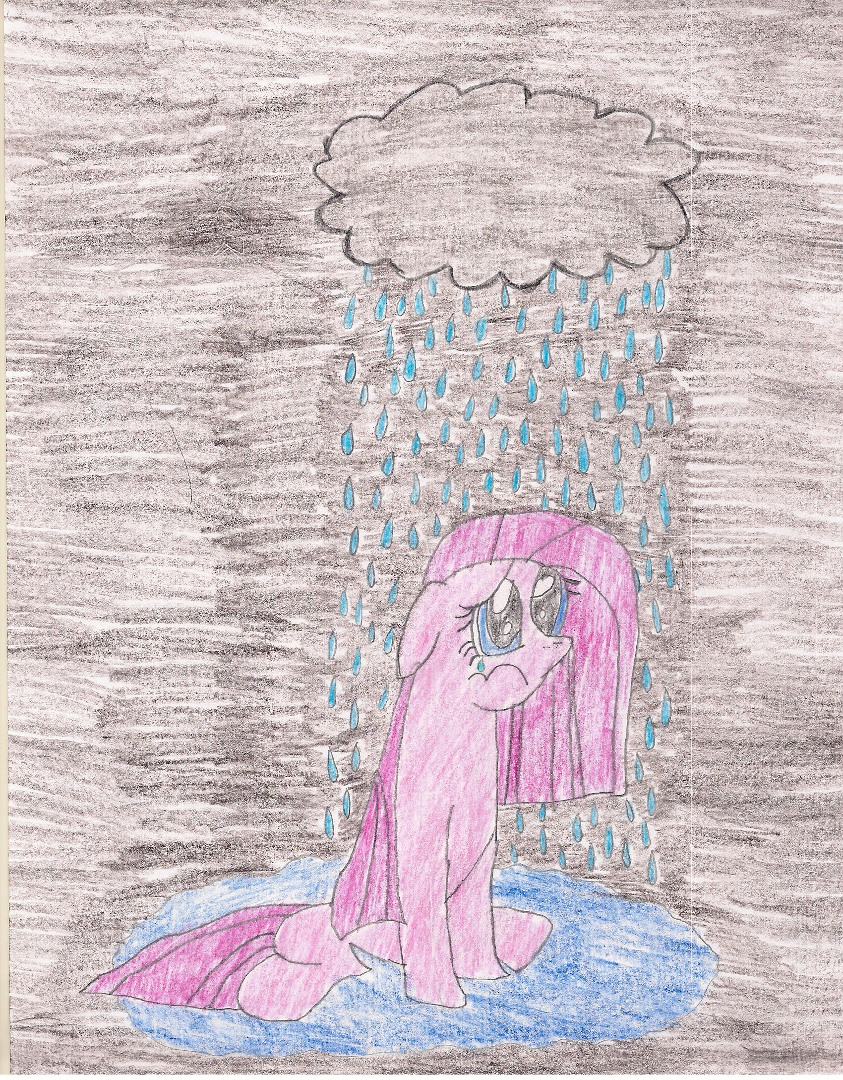 sad pinkie pie coloring pages - photo#12