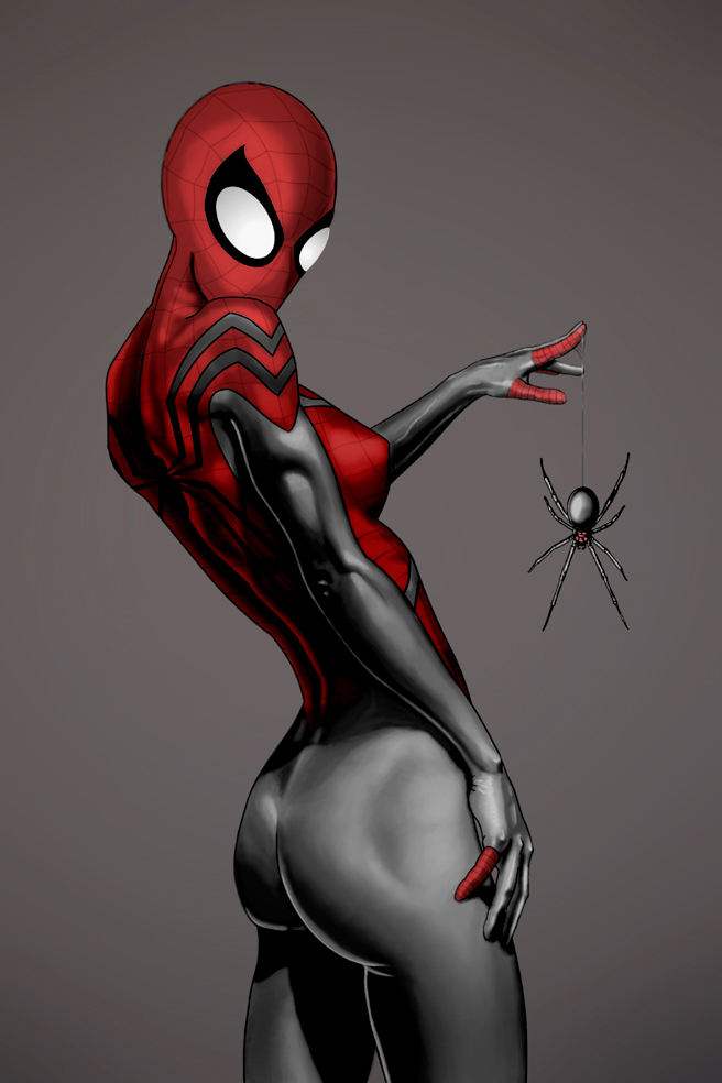 woman Sexy spider