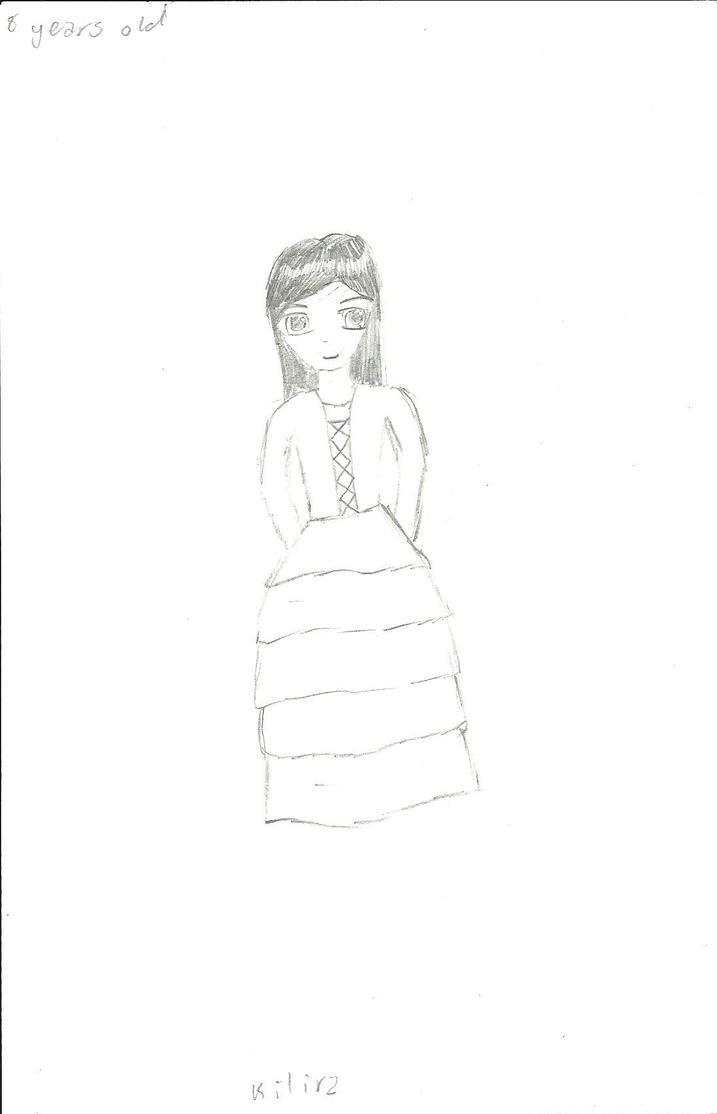 Kilira (8 years old) by Ahtilak