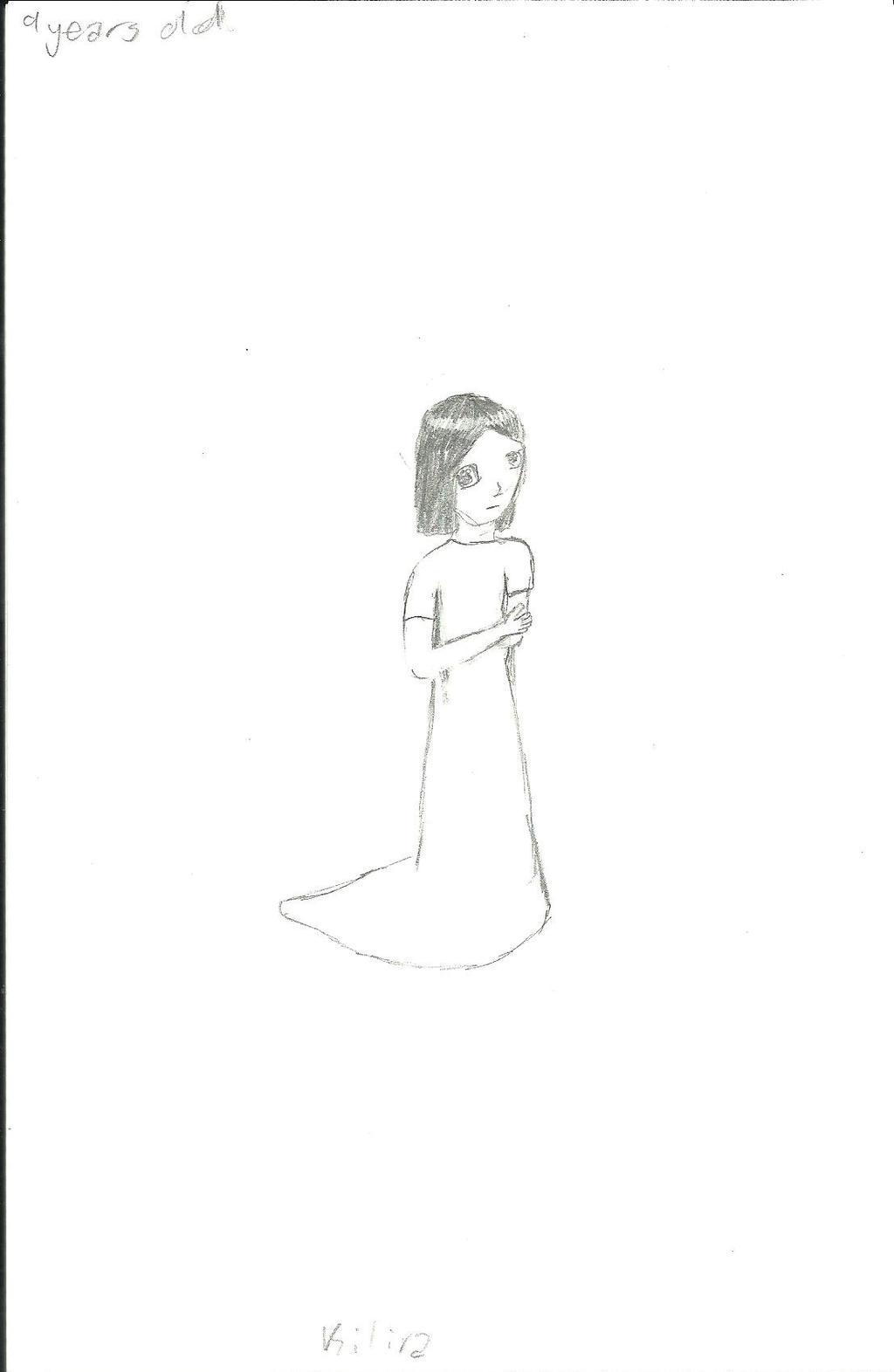 Kilira (9 years old) by Ahtilak