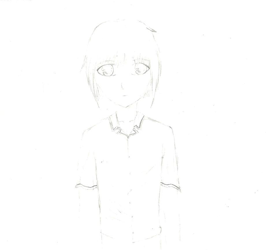 Pencil Sketch of A Hot Guy by Ahtilak