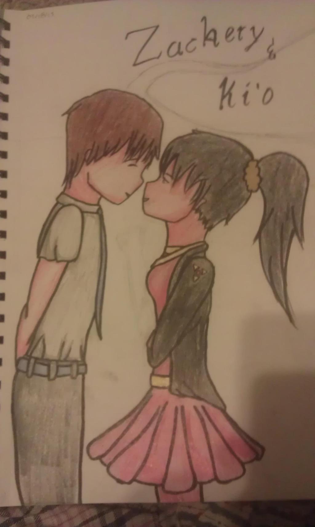 First Kiss by Ahtilak